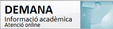 DEMANA Informació acadèmica per a estudiants