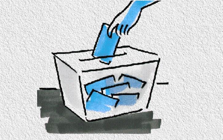 Resultat d'imatges de imatge d'urna