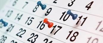 Publicat el Calendari de Matrícula Curs 2021-2022 i el d'avaluació Primavera 2021